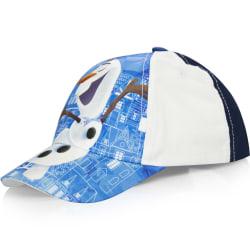 ZTR Keps Cap Kepsar Hat Baseball Frost Frozen Olof Olaf Blåvit