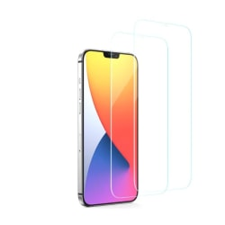 2-PACK härdat glas iPhone 12 Pro Max Transparent