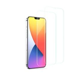 2-PACK härdat glas iPhone 12 Transparent