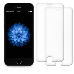 2-PACK härdat glas iPhone SE (2020) Transparent