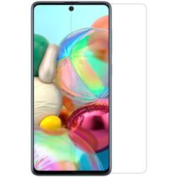 2-PACK härdat glas till Samsung A71 Transparent
