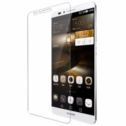 2 st härdat glas Huawei Ascend Mate 7 Transparent