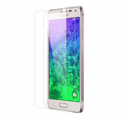 2 st härdat glas Samsung Galaxy Alpha Transparent