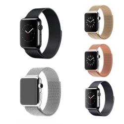 Apple Watch Milanese Loop 42/44mm - fler färger Svart