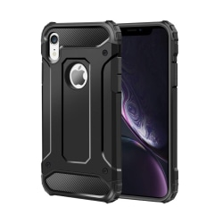 Armor Stöttåligt Hybrid Skal iPhone X/XS - Svart - fler färger Svart