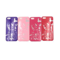 Butterfly Skal iPhone 5/5S/SE(1a generationen) - fler färger Lila