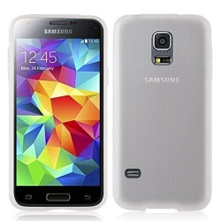 Frostat Transparent TPU Skal Samsung S5 - fler färger Transparent