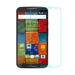 Härdat glas till Moto G3 Transparent