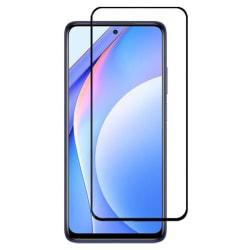Heltäckande Härdat Glas till Xiaomi Mi 10T Lite - Svart Svart