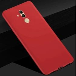 Huawei Mate 20 Lite Ultratunn Silikonskal - fler färger Röd