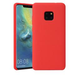 Huawei Mate 20 PRO Ultratunn Silikonskal - fler färger Röd