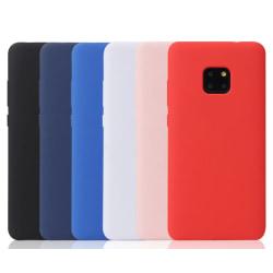 Huawei Mate 20 PRO Ultratunn Silikonskal - fler färger Svart