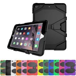 iPad 9.7 (2018) / iPad 9.7 (2017) Stöttåligt Armor Shockproof -  Svart