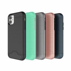 iPhone 11   Armor skal   Korthållare - fler färger Svart