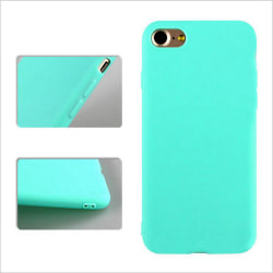 iPhone 7/8 Ultratunn Silikonskal - fler färger Turkos