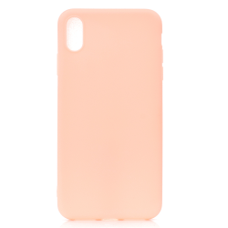 iPhone XR Ultratunn Silikonskal - fler färger Rosa