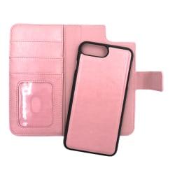 """Magnetskal/plånbok """"2 i 1"""" iPhone 7 PLUS - fler färger Rosa"""