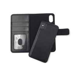 "Magnetskal/plånbok ""2 i 1"" iPhone X/XS - fler färger Svart"
