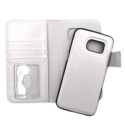 """Magnetskal/plånbok """"2 i 1"""" Samsung S7 - fler färger Vit"""