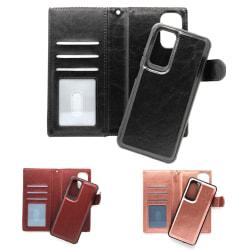 "Magnetskal/plånbok ""2 i 1"" Xiaomi Mi 10T Pro - fler färger Svart"