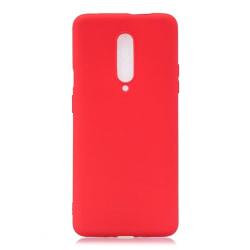 Oneplus 7 Pro Ultratunn Silikonskal - fler färger Röd