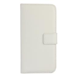 Plånboksfodral Äkta Skinn Sony Z5 - fler färger Vit