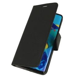 Plånboksfodral Fancy Huawei P30 Pro - Svart - fler färger Black