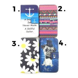 Plånboksfodral med Motiv Sony Z3 Compact - Olika motiv MultiColor Motiv 3