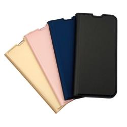 Plånboksfodral Ultratunn design Samsung A40 - fler färger Mörkgrå
