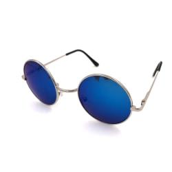 Runda solglasögon - fler färger Silver one size