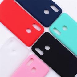 Samsung A20e Ultratunn Silikonskal - fler färger Svart