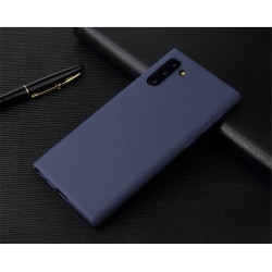 Samsung Note 10 Ultratunn Silikonskal - fler färger Blå