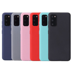 Samsung Note 20 Ultratunn Silikonskal - fler färger Röd