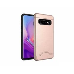 Samsung S10 | Armor skal | Korthållare - fler färger Rosa