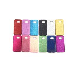 Samsung S6 Bling Glitter Skal - fler färger Silver
