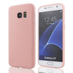 Samsung S7 Ultratunn Silikonskal - fler färger Rosa