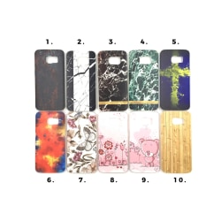 Skal med motiv Samsung S6 Edge MultiColor Motiv 3