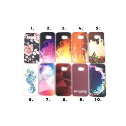 Skal med motiv Samsung S6 Edge multifärg
