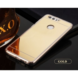 Spegelskal Huawei Honor 8 - fler färger Guld