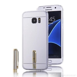 Spegelskal Samsung S6 - fler färger Silver