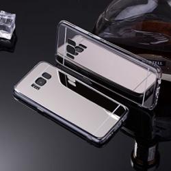 Spegelskal Samsung S8 PLUS - fler färger Silver
