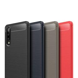 Stöttåligt Armor Carbon TPU-skal Huawei P30 - fler färger Svart