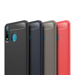 Stöttåligt Armor Carbon TPU-skal Huawei P30 Lite - fler färger Svart