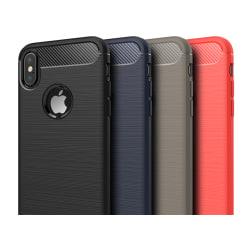 Stöttåligt Armor Carbon TPU-skal iPhone X/XS - fler färger Svart