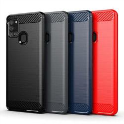 Stöttåligt Armor Carbon TPU-skal Samsung A21s - fler färger Svart
