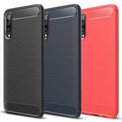 Stöttåligt Armor Carbon TPU-skal Samsung A50 - fler färger Svart