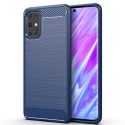 Stöttåligt Armor Carbon TPU-skal Samsung S20 Plus - fler färger Blå