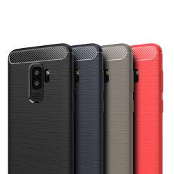 Stöttåligt Armor Carbon TPU-skal Samsung S9 PLUS - fler färger Svart