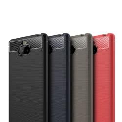 Stöttåligt Armor Carbon TPU-skal Sony Xperia 10 - fler färger Röd