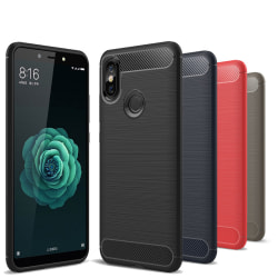 Stöttåligt Armor Carbon TPU-skal Xiaomi Mi A2 - fler färger Blå